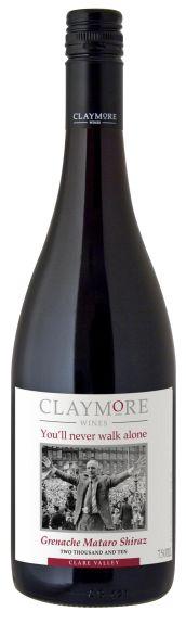 Claymore You'll Never Walk Alone Grenache / Shiraz / Mataro 2012 ... im evinum Wein-Shop