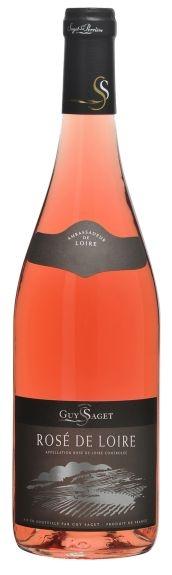 Guy Saget Rosé de Loire Touraine AOC 2014 ... im evinum Wein-Shop